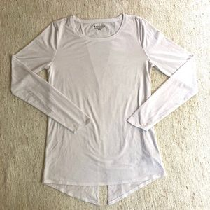 Athleta Long Sleeve Tie-Back Top